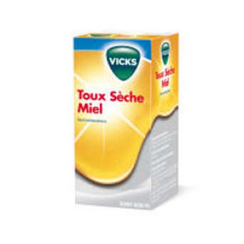 VICKS TOUX SECHE AD MIEL PAST